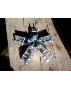 Коннектор для купольного дома шарнирный 5 лучей